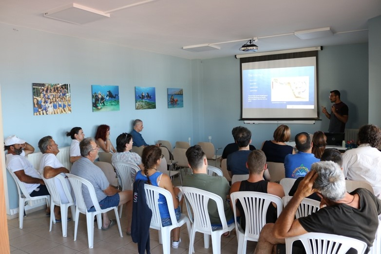 Presentation about Lionfish given by Vasilis Andreou